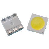 Surface Mount 5050 Series LEDs - Super Bright White, Blue, Red, Green - Pack Size 10, 25, 50 and 100 Great Value