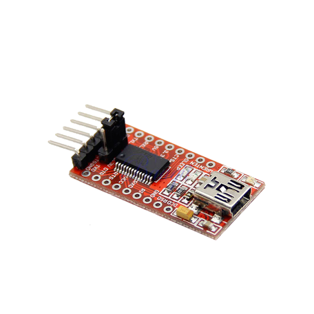 FTDI FT232RL USB to TTL Serial Adapter - 3.3V and 5V Operation