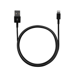 USB Lightning Cable - 1m - Black
