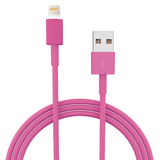 USB Lightning Cable - 1m - Pink