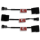 NA-SAC1 4-Pin Molex to 3-pin Fan Adaptor Cables, 3 pack