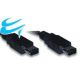 1M Firewire cable - IEEE1394 6 pin Male to 6 pin Male