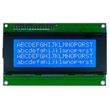 HD44780 Alphanumeric LCDs - 4x20 - Blue backlight, White pixels