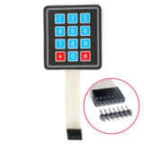 Membrane Keypad - 12 button 3 x 4 matrix keypad