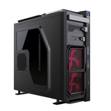 V9-Red Vaporise Gaming Case with usb 2.0 and usb 3.0 ports Twin Fan