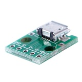 Micro USB DIP Adapter Converter 5pin for 2.54mm PCB Breakout Board Power Supply