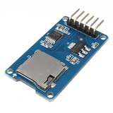 Micro SD Mini TF Storage Shield Module Board Card Memory SPI Interface