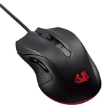 ASUS Cerberus Gaming Mouse (USB/Black/2500dpi/5 Buttons)
