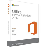 Microsoft Office Home and Student 2016 32/64-BIT for 1 Windows PC - MLK