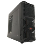INWIN MANA136 Black Mid Tower Case (ATX/M-ATX/M-ITX) Dual Branded as Stormforce/In-Win