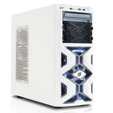 INWIN MANA136 White Mid Tower Case (ATX/M-ATX/M-ITX) Branded as Stormforce