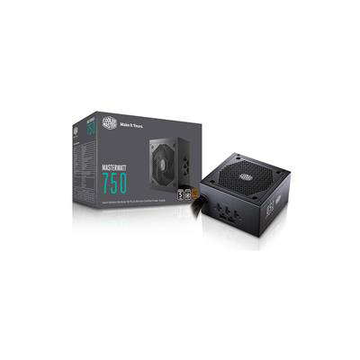 Cooler Master 750W ATX Modular Power Supply - MasterWatt 750 - (Active PFC/80 PLUS Bronze)