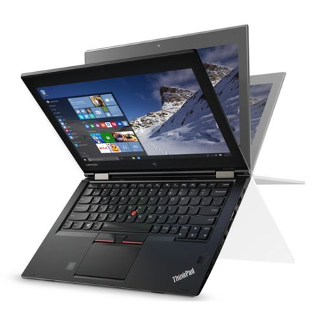 Lenovo ThinkPad Yoga 260, 12.5 Touch, Intel Core i7-6500U, 8GB DDR4, 256GB SSD, 4G, FP Reader, Windows 10 Pro