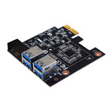 BIOSTAR PCIe X1 USB 3.0 Crypto Mining Expansion Card