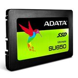 "ADATA 480GB Ultimate SU650 SSD, 2.5"", SATA3, 7mm (2.5mm Spacer), 3D NAND, R/W 520/450 MB/s, 75K IOPS"