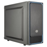 Cooler Master MasterBox E500L Black/Blue Mid Tower Case (M-ITX/M-ATX/ATX)