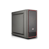 Cooler Master MasterBox E500L Black/Red Mid Tower Case (M-ITX/M-ATX/ATX)