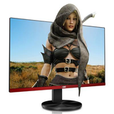 "AOC 24.5"" Widescreen TN LED Black/Red Multimedia Monitor (1920x1080/1ms/VGA/HDMI/DisplayPort)"