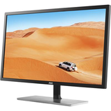 "AOC 31.5"" Widescreen IPS LED Black Monitor (2560x1440/5ms/VGA/HDMI/DP/DVI)"