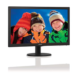 "Philips 21.5"" Widescreen TN W-LED Black Monitor (1920x1080/5ms/VGA/DVI)"