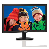 "Philips 21.5"" Widescreen TN W-LED Black Monitor (1920x1080/5ms/VGA)"