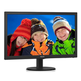 "Philips 21.5"" Widescreen TN W-LED Black Monitor (1920x1080/5ms/VGA/HDMI)"
