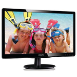 "Philips 21.5"" Widescreen TN W-LED Black Glossy Multimedia Monitor (1920x1080/5ms/VGA/DVI)"