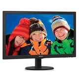 "Philips 23.6"" Widescreen TN W-LED Black Multimedia Monitor (1920x1080/5ms/VGA/DVI/HDMI)"