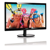 "Philips 24"" Widescreen TN W-LED Black Glossy Multimedia Monitor (1920x1080/1ms/VGA/HDMI)"