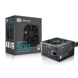 Cooler Master 500W ATX Power Supply - MasterWatt Lite - (Active PFC/80 PLUS White)