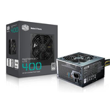 Cooler Master 400W ATX Power Supply - MasterWatt Lite - (Active PFC/80 PLUS White)