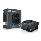 Cooler Master 600W ATX Power Supply - MasterWatt Lite - (Active PFC/80 PLUS White)