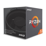 AMD Ryzen 5 2600 Retail Wraith Stealth - (AM4/Hex Core/3.40GHz/19MB/65W)