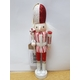 6 * Nutcracker Soldier Figure x 15cm Christmas Tree Hanging Decoration