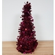 Table Top Christmas Tree Cone Red Colour approx, 35cm high