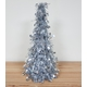 Table Top Christmas Tree Cone Silver Colour approx, 35cm high
