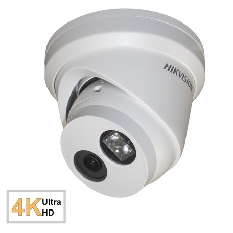 HIKVISION DS-2CD2385FWD-I 2.8mm lens 8MP 4K IR Turret Camera