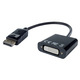 Display Port To DVI-D Adaptor Black