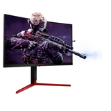 "AOC 27"" Widescreen TN WLED Black/Red Multimedia Curved Monitor (2560x1440/1ms/HDMI/DP)"