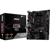 MSI (Socket AM4/A320/DDR4/S-ATA 600/Micro ATX)