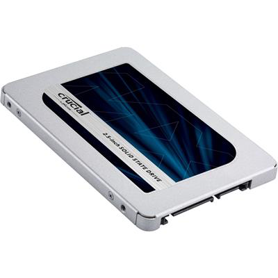 """Crucial 500GB Serial 2.5"""" Solid State Drive MX500 (S-ATA/600)"""