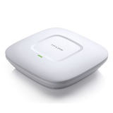 TP-LINK (EAP110 V4) Omada 300Mbps Wireless N Ceiling Mount Access Point, Passive PoE, 10/100, Free Software