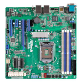 Asrock Rack Server Board, Intel C236, 1151, Micro ATX, DDR4, Dual GB LAN, IPMI LAN, Serial Port