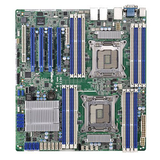 Asrock Rack Server Board, Intel C602, 2011, SSI EEB, Quad GB LAN, IPMI LAN, Serial Port