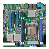 Asrock Rack Server Board, Intel C612, 2011, Micro ATX, Dual GB LAN, IPMI LAN, Serial Port