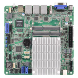 Asrock Rack Server Board, Integrated CPU, Mini ITX, Dual GB LAN, USB3, IPMI LAN