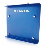 Adata SSD Mounting Kit, Frame to Fit 2.5 SSD or HDD into a 3.5 Drive Bay, Blue Metal