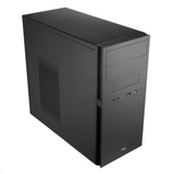 Aerocool Micro ATX Case, No PSU, 8cm Fan, USB 3.0, Black