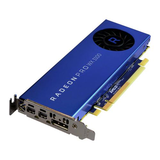 AMD Radeon Pro WX 3100 Professional Graphics Card, 4GB DDR5, DP, 2 miniDP (mDP to DVI Adapter), 1219MHz Clock, Low Profile (Bracket Included)