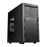 Antec VSK3000 Elite Micro ATX Case, No PSU, 12cm Fan, USB 3.0, Black